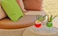 Zona relax in spiaggia a Lignano
