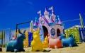 Casetta dei giochi sulla spiaggia di Lignano